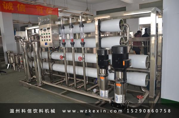 反渗透水处理设备基本原理及性能分析