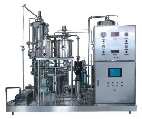 汽水饮料混合机在碳酸饮料中的应用