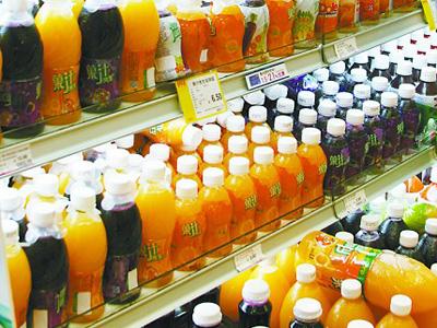 看大型果汁饮料企业如何定位产品