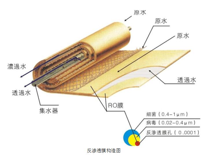 RO膜的结构图