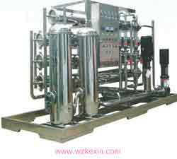 10T双级反渗透水处理设备