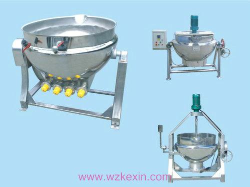 立式电加热夹层锅(带搅拌)