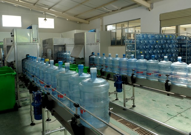 桶装水生产线安装调试方法