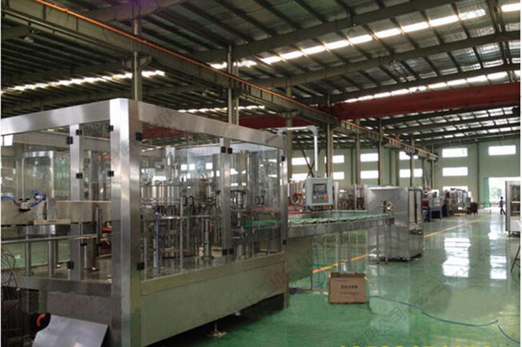 含气饮料灌装生产线 碳酸饮料灌装机