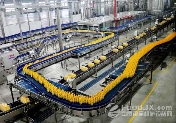 果汁饮料生产线投资
