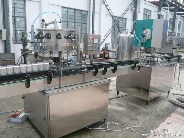 直线式瓶装酱油醋易拉罐生产线适用范围