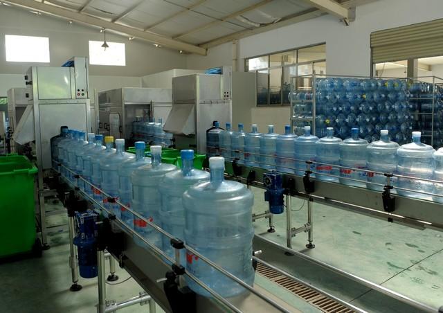 桶装水生产线的具体流程