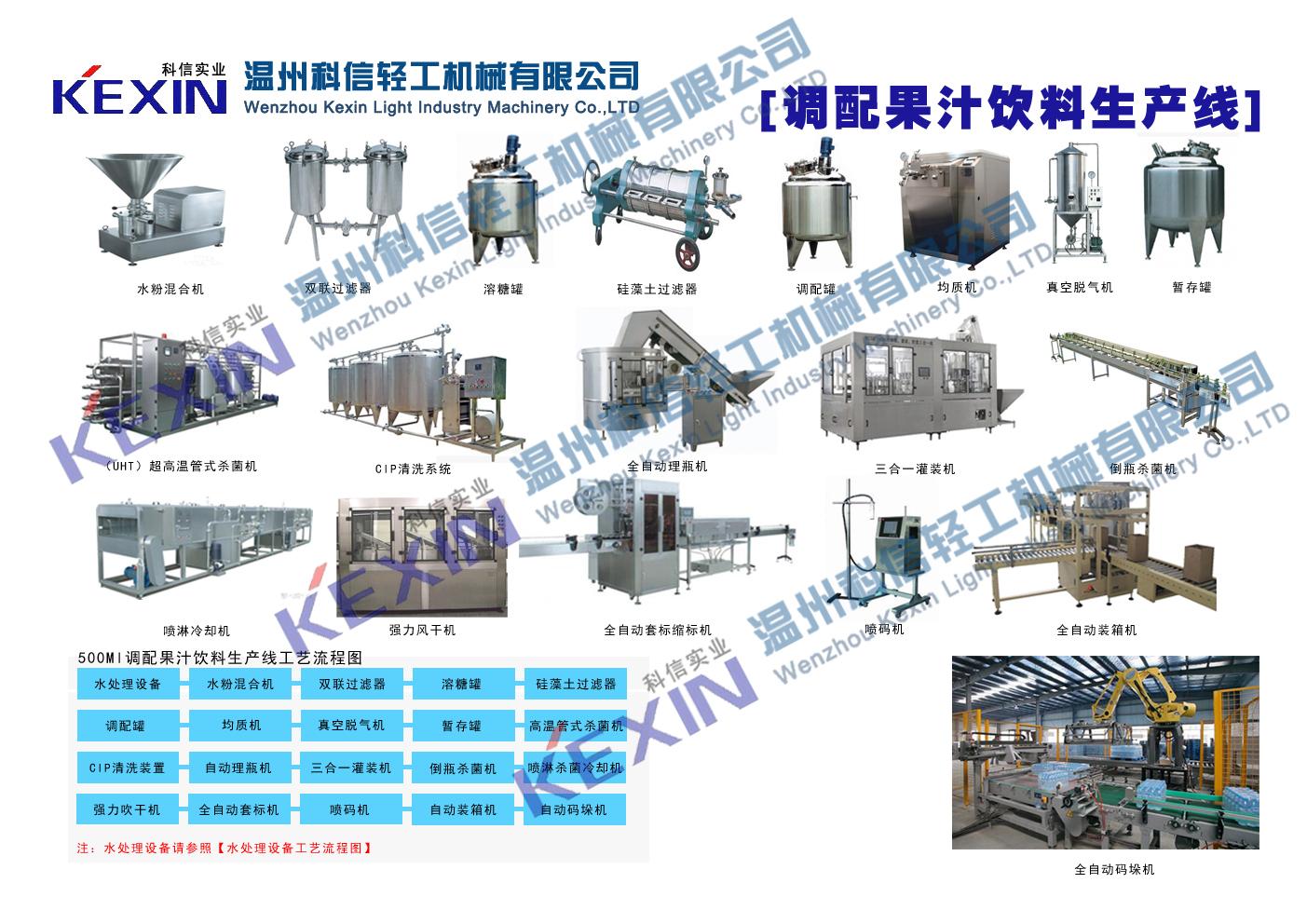 科信饮料机械打造中国饮料机械第一品牌