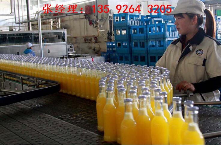 果汁饮料生产线135 9264 3205
