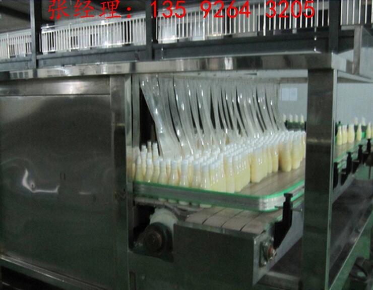 每小时一吨豆奶生产加工设备|黄豆深加工豆奶整套生产线