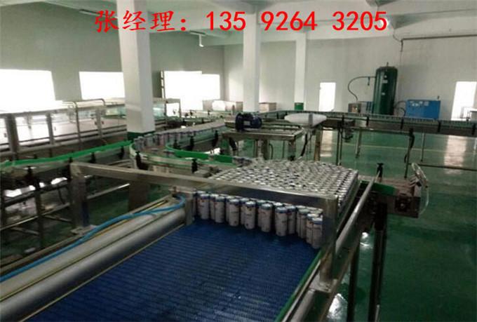 易拉罐核桃露饮料生产线解决方案|植物蛋白饮料设备厂家