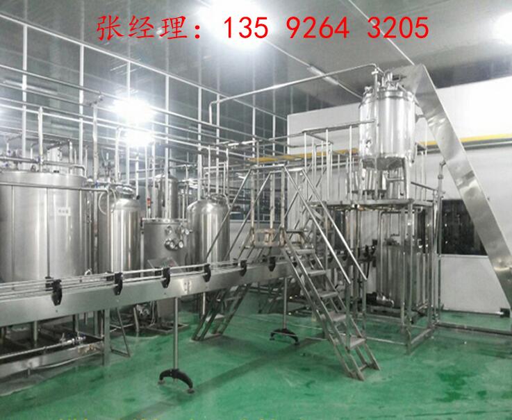 水果酵素设备多少钱|中大型水果酵素饮料生产线设备厂家