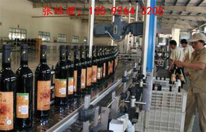 2019年全自动葡萄深加工整套设备|玻璃瓶葡萄酒酿造发酵罐设备厂家